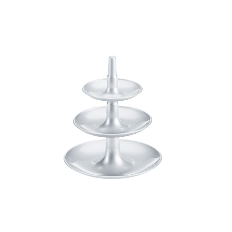 Keukentrolley Leenbakker : Koziol Babell etag?re xs zilver ? 13.45 bij Pogo Design