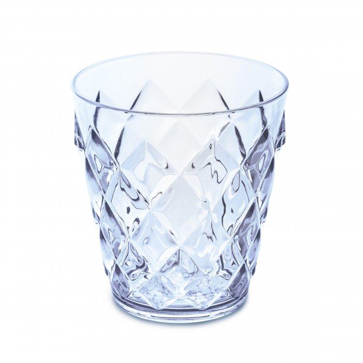 Koziol Crystal beker transparant aquamarine