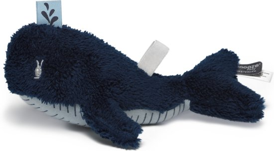 Snooze baby speenknuffel Wally Whale