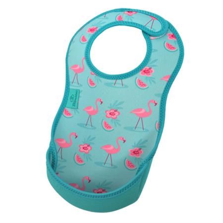 Bibetta slab Flamingo helderblauw