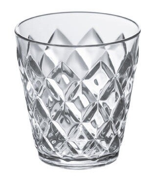 Koziol Crystal beker crystal clear