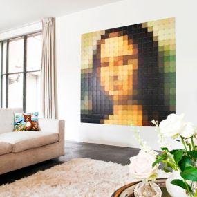 IXXI PIXEL Mona Lisa wanddecoratie