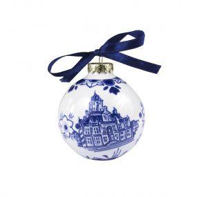 Royal Delft Kerstbal Delft 7 cm