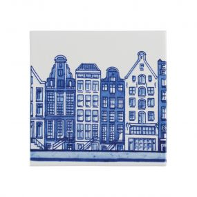 Royal Delft tegel gracht 01