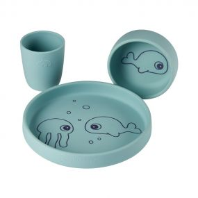 Done by Deer Sea friends Dinner set blauw