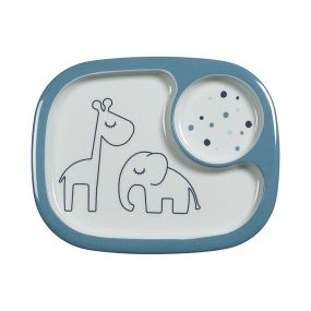 Done by Deer mini Yummy vakkenbord Dreaming dots blauw