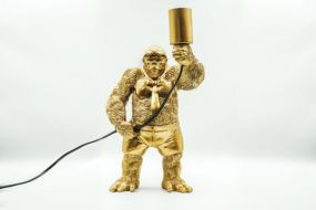 Housevitamin staande Gorilla lamp goud
