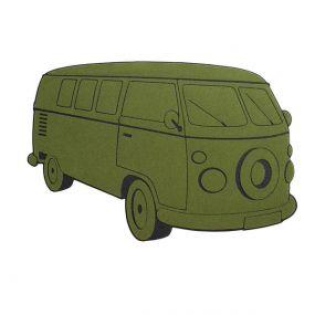 Balvi deurmat Bus groen