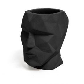 Balvi The Head zwart beton organizer