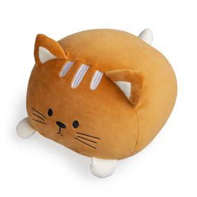 Balvi kattenkussen Kitty bruin