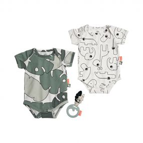 Done by Deer romper en speeltje giftset Tiny Tropics