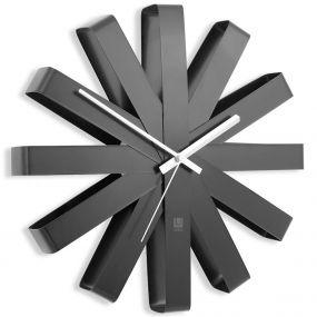 Umbra Ribbon klok zwart