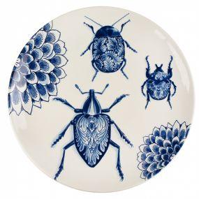 Royal Delft Bord Wunderkammer Bugs 28 cm