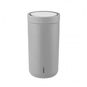 Stelton To GO Click 0,2 mat light grey