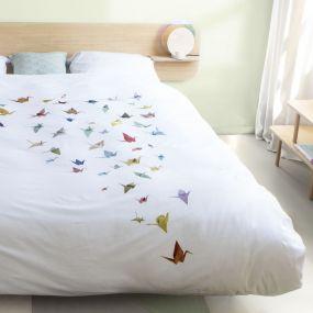 Snurk Kraanvogel dekbedovertrek