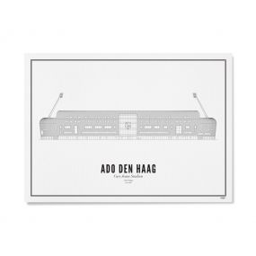 Wijck stadion print Cars Jeans Stadion A4 21 x 30