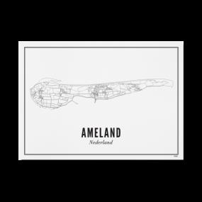 Wijck print Ameland A3 30 x 40