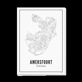 Wijck print stad AMersfoort A4 21 x 30