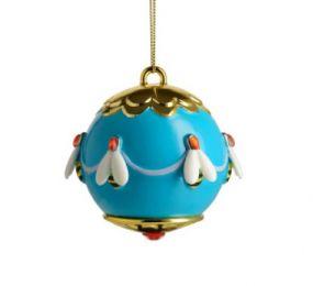 Alessi kerstbal Faberjori Ape dell'oro