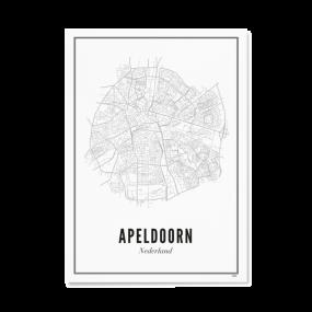 Wijck print Apeldoorn A4 21 x 30