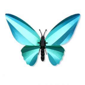 Assembli Birdwing Butterfly glossy caribbean green