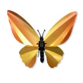 Assembli Birdwing vlinder zonnig geel