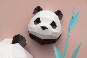 Assembli Baby Panda paper Kit DIY