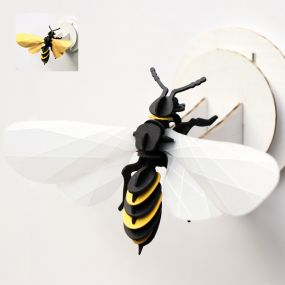 Assembli Paper wasp 3D insect
