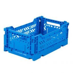 Folding Crates Blauw Eef Lillemor Ay-kasa