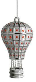 Alessi kerstbal Faberjori Mongolfiera reale