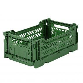 Folding Crates Mini Donker groen Eef Lillemor Ay-kasa