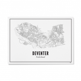 Wijck print Deventer A4 21 x 30