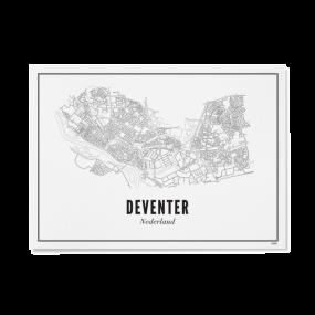 Wijck poster Deventer A3 30 x 40