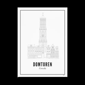Wijck print Domtoren A4 21 x 30