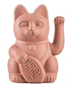 Lucky cat roze - Donkey Maneki Neko