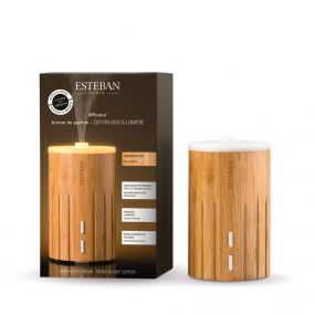 Esteban Mist Diffuser Editie Wood & Light Bamboo - Wit Licht