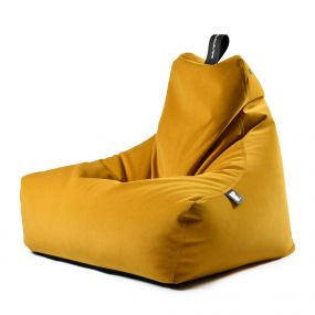 Extreme Lounging b-bag mighty-b Indoor Suede mosterd