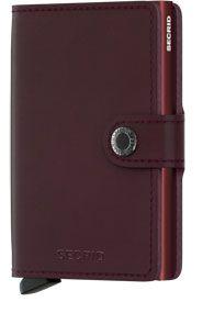 Secrid Mini wallet Bordeaux
