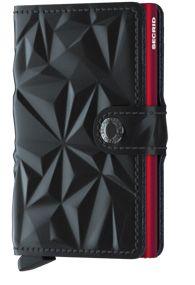 Secrid Mini wallet Prism black red