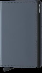 Secrid Slim wallet mat grijs