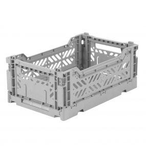 Folding Crates Mini grijs Eef Lillemor Ay-kasa