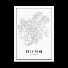 Wijck poster Groningen A3 30 x 40