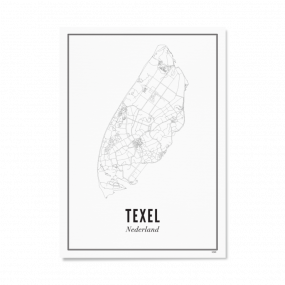 Wijck print Texel A3 30 x 40