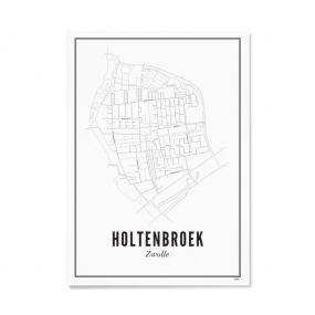 Wijck Zwolle Holtenbroek A4 21 x 30