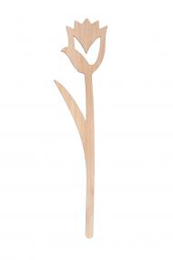 Design Vires houten snijbloem Tulp