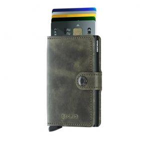 Secrid mini wallet Vintage Olive black