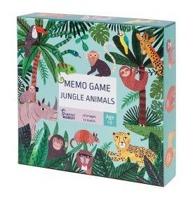 Petit monkey memory spel met dieren uit de jungle