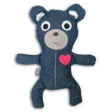 Bitten warmte kussen Huggable Bear Jeans