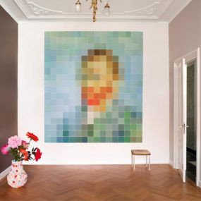 IXXI PIXEL Van Gogh wanddecoratie