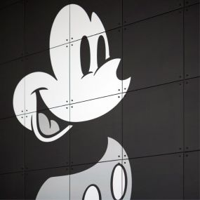 IXXI Disney Mickey Mouse black & white